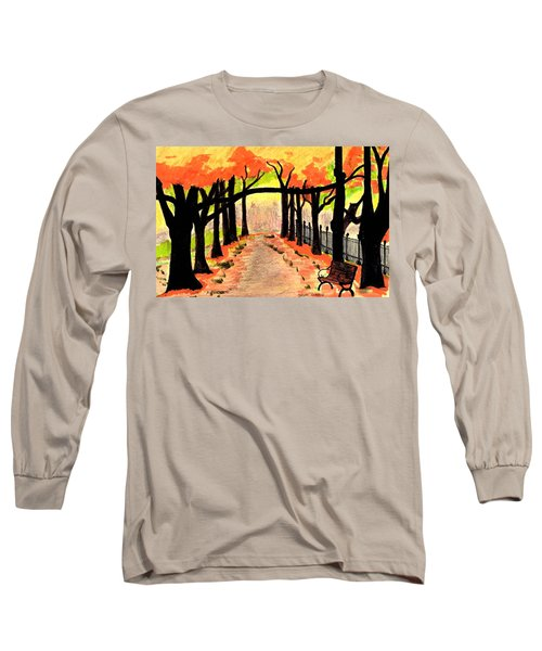 October- Salem Common Long Sleeve T-Shirt