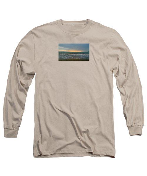 October Sunrise Long Sleeve T-Shirt by Anne Kotan