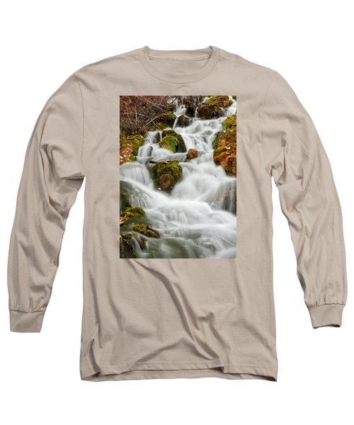 October Waterfall Long Sleeve T-Shirt