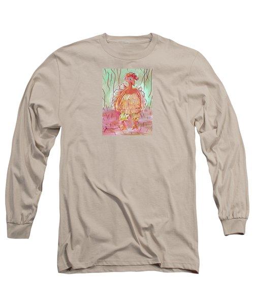Odd Chicken Long Sleeve T-Shirt