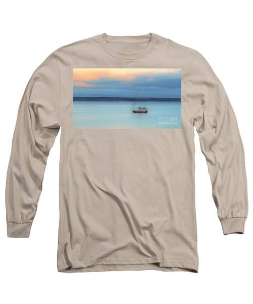 Long Sleeve T-Shirt featuring the photograph Off Sailing by Stephen Mitchell