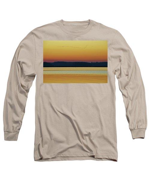 Off To Florida Long Sleeve T-Shirt by William Bartholomew