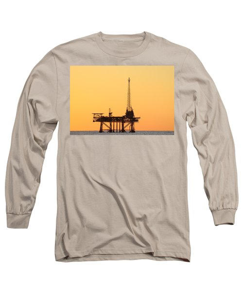 Offshore Oil And Gas Platform  Long Sleeve T-Shirt