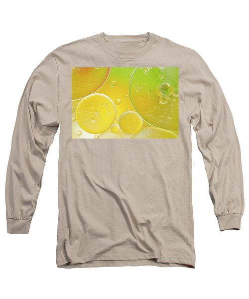 Oil And Water Bubbles  Long Sleeve T-Shirt