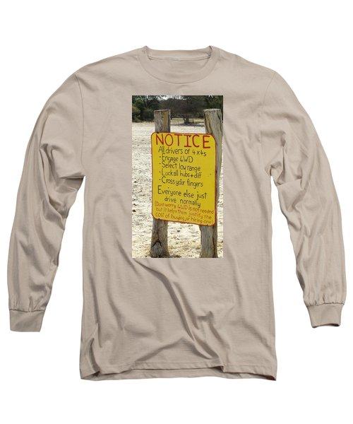 Okavango Humor Long Sleeve T-Shirt