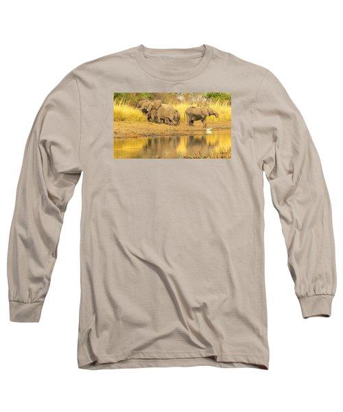 Okavango Scramble Long Sleeve T-Shirt