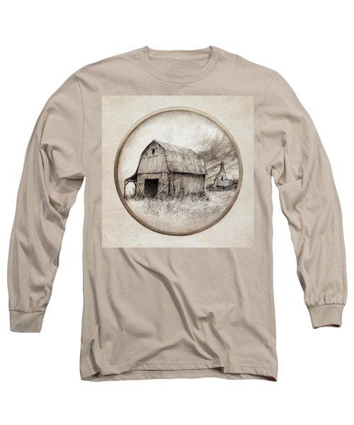 Old Barn Long Sleeve T-Shirt