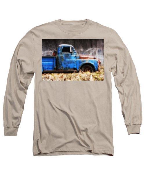 Old Blue Truck Long Sleeve T-Shirt