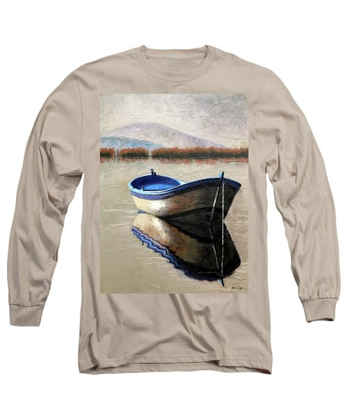 Old Boat Long Sleeve T-Shirt by Janet King
