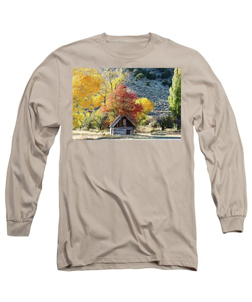 .  Butch Cassidy's Home Place  Long Sleeve T-Shirt