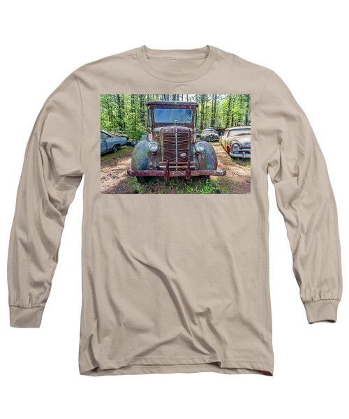 Old Car Smile Long Sleeve T-Shirt