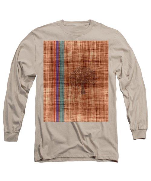Old Fabric Long Sleeve T-Shirt by Thomas M Pikolin