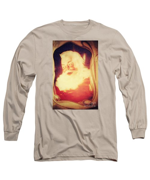 Old Fashioned Santa Long Sleeve T-Shirt by Janie Johnson