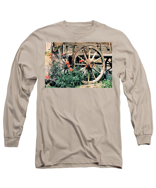 Old Freight Wagon Long Sleeve T-Shirt