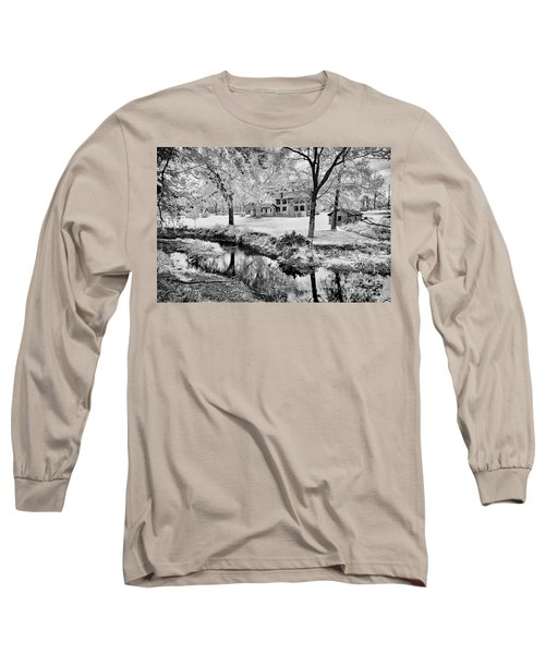 Long Sleeve T-Shirt featuring the photograph Old Frontier House by Paul W Faust - Impressions of Light