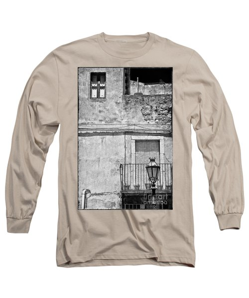 Old House In Taormina Sicily Long Sleeve T-Shirt