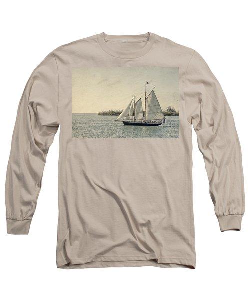 Old Key West Sailing Long Sleeve T-Shirt