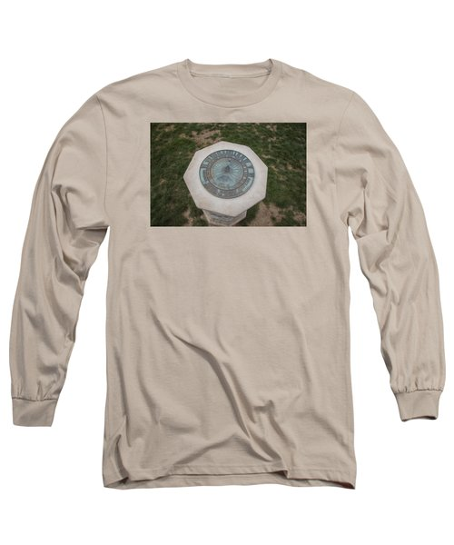 Old Main Statue  Long Sleeve T-Shirt by John McGraw