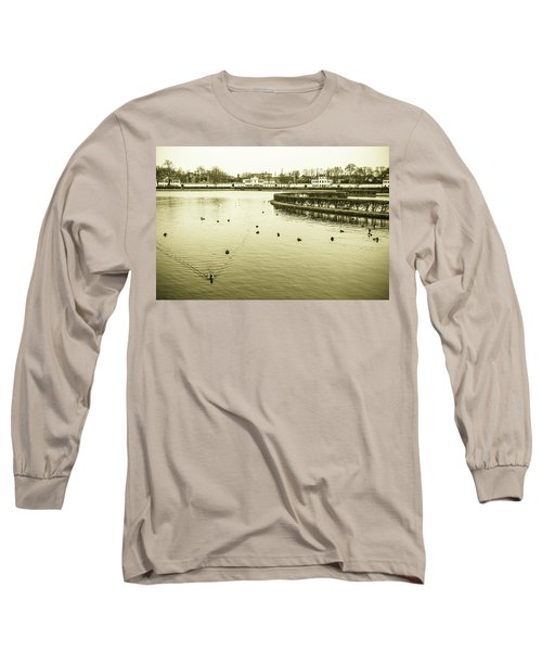 Old Munich Long Sleeve T-Shirt by Sergey Simanovsky