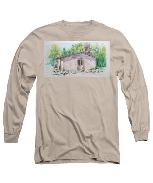 Old New Mexico House Long Sleeve T-Shirt