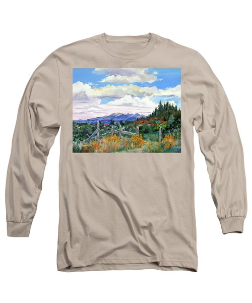 Old North Fence-in Colorado Long Sleeve T-Shirt