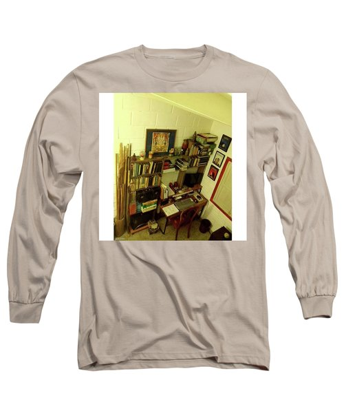 Old School  From Tempo By David Long Sleeve T-Shirt