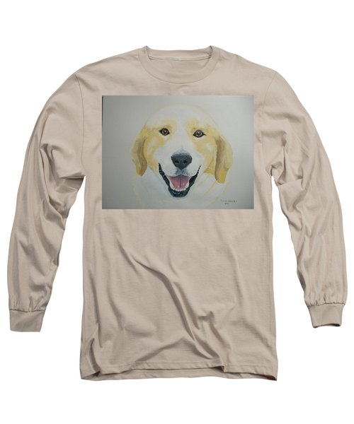 Long Sleeve T-Shirt featuring the painting Old Shep by Norm Starks