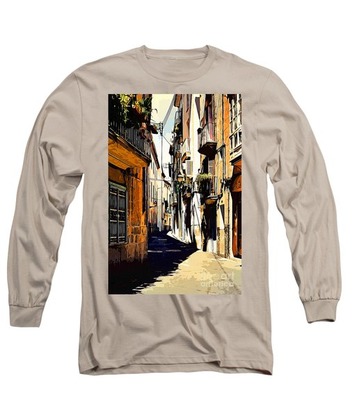 Old Spanish Street Long Sleeve T-Shirt