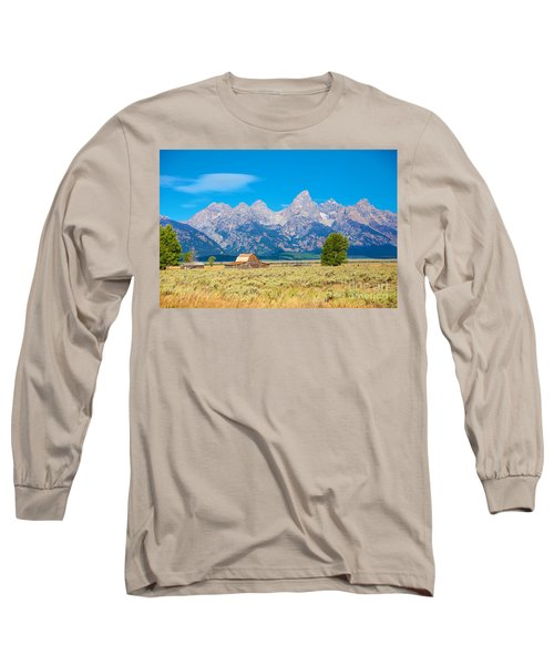 Long Sleeve T-Shirt featuring the photograph Old Time Community by Robert Pearson