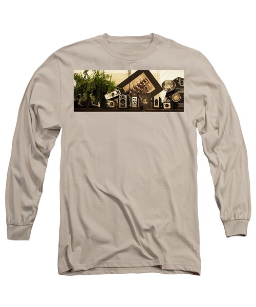 Old Time Photography Long Sleeve T-Shirt by Cathy Donohoue