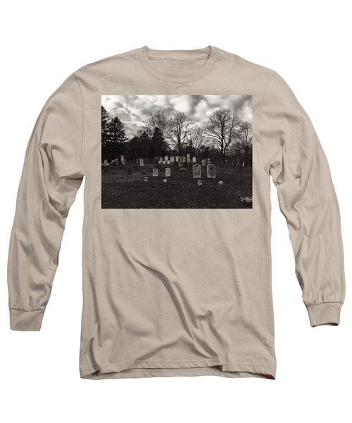 Old Town Cemetery , Sandwich Massachusetts  Long Sleeve T-Shirt
