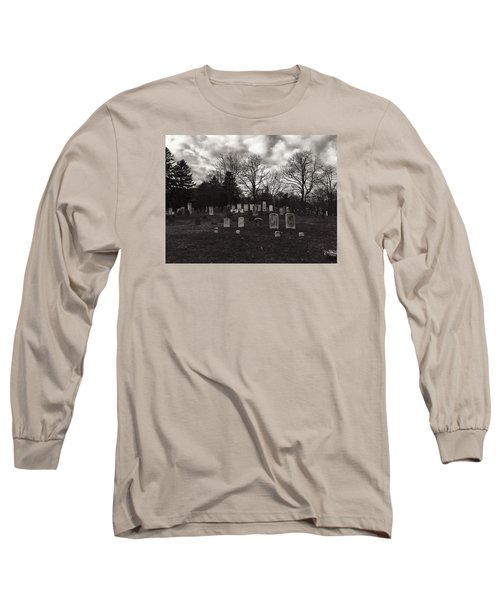 Old Town Cemetery , Sandwich Massachusetts  Long Sleeve T-Shirt