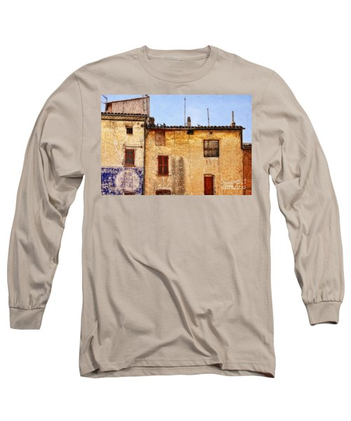 Old Walls In Provence Long Sleeve T-Shirt