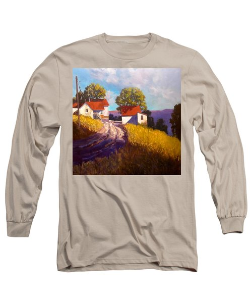Old Willy's Barn Long Sleeve T-Shirt