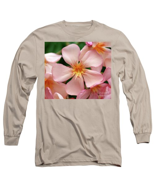Long Sleeve T-Shirt featuring the photograph Oleander Dr. Ragioneri 1 by Wilhelm Hufnagl