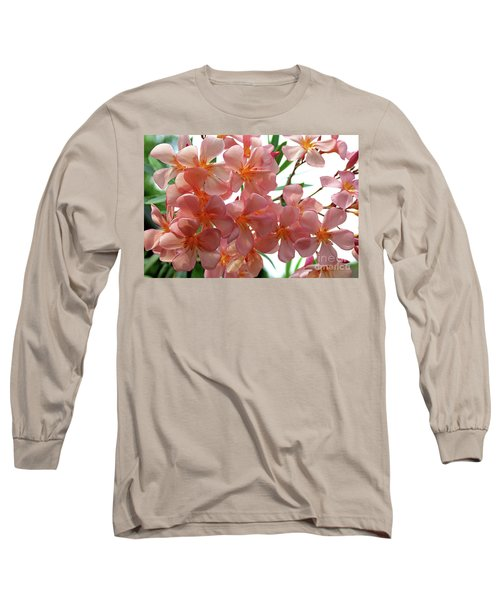 Long Sleeve T-Shirt featuring the photograph Oleander Dr. Ragioneri 4 by Wilhelm Hufnagl