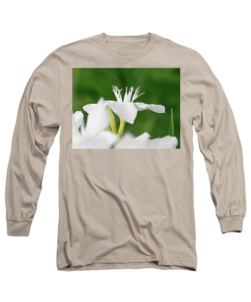 Long Sleeve T-Shirt featuring the photograph Oleander Ed Barr 1 by Wilhelm Hufnagl