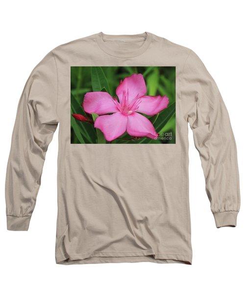 Oleander Professor Parlatore 2 Long Sleeve T-Shirt by Wilhelm Hufnagl