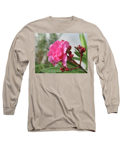 Oleander Splendens Giganteum 4 Long Sleeve T-Shirt