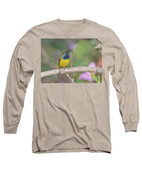 Olive-backed Sunbird Long Sleeve T-Shirt