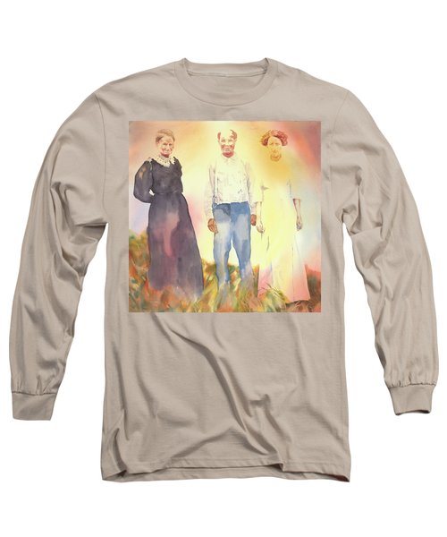 Olive, John And Anna Long Sleeve T-Shirt