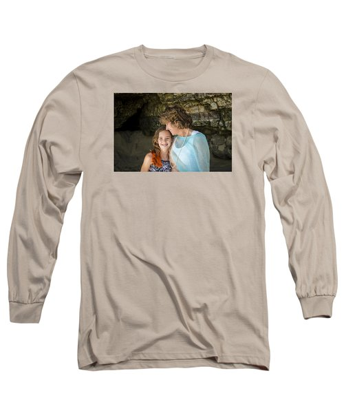 Olivia And Toni Long Sleeve T-Shirt by Alex Lapidus