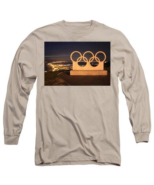 Olympic Rings Portland  Long Sleeve T-Shirt