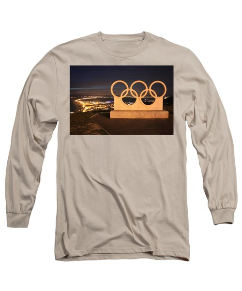Olympic Rings Portland  Long Sleeve T-Shirt