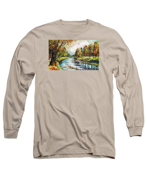 Olza River Long Sleeve T-Shirt