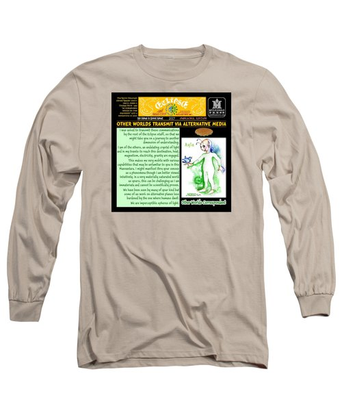 Omniscire Other Worlds Correspondent Long Sleeve T-Shirt by Dawn Sperry