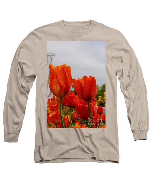 Long Sleeve T-Shirt featuring the photograph On Fire by Robert Pearson