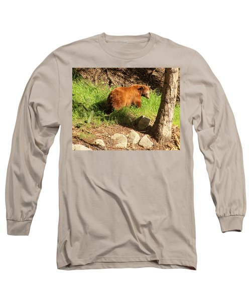 Long Sleeve T-Shirt featuring the photograph On Monrovia Trail by Viktor Savchenko