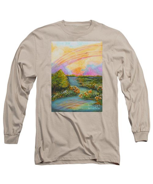 On My Way Long Sleeve T-Shirt by Holly Carmichael