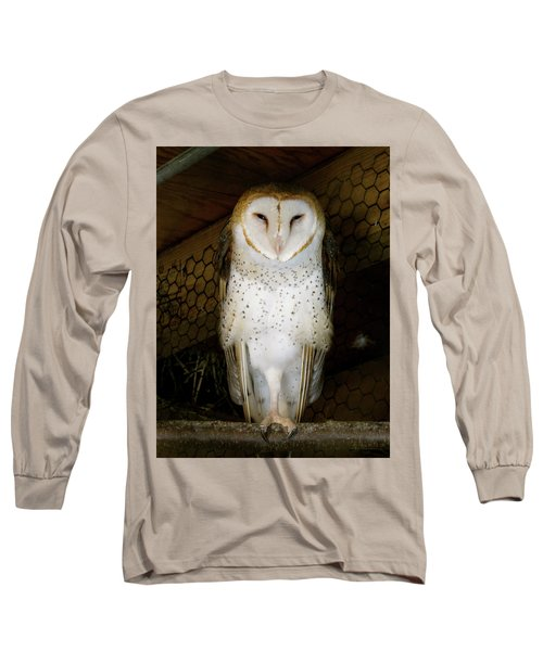 On One Leg Long Sleeve T-Shirt